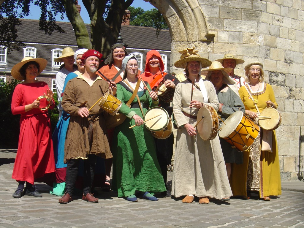 The Taborers Society at the York Mystery Plays 2006